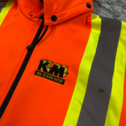 Embroidered High Visibility Jacket
